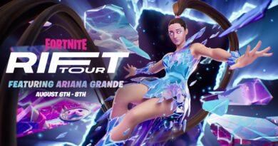 Когда состоится тур по Fortnite Rift с участием Арианы Гранде?