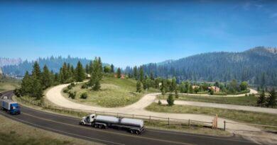 Расширение American Truck Simulator - Вайоминг выйдет в сентябре этого года
