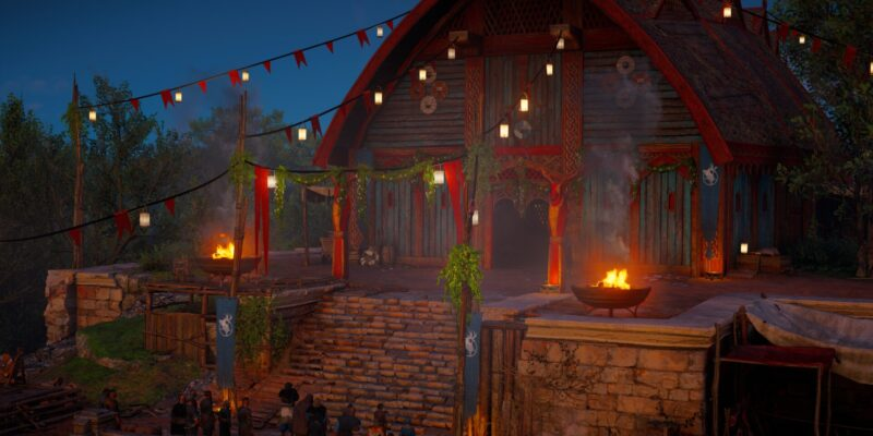 Assassin's Creed Valhalla: Siege of Paris - решения и события Skål Celebration