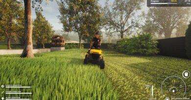 Обзор симулятора газонокосилки - стрижка газона