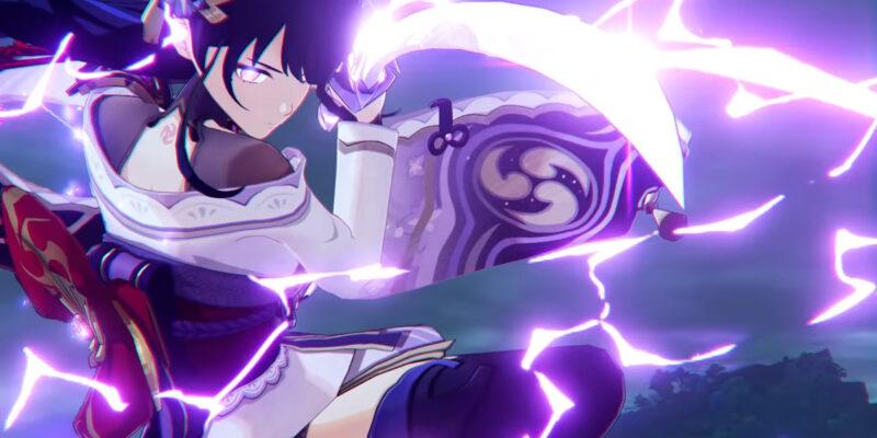 Демоверсия персонажа Genshin Impact Raiden Shogun возбуждает