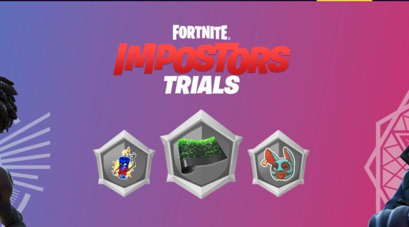 Как получить все награды в испытаниях Fortnite Impostors