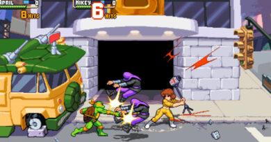 Эйприл О'Нил присоединяется к битве в Teenage Mutant Ninja Turtles: Shredder's Revenge