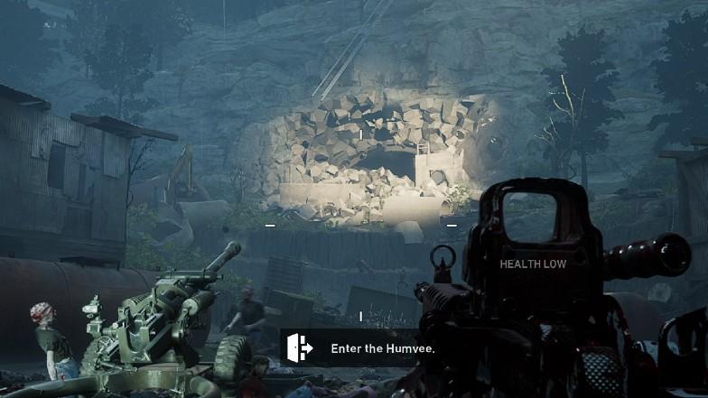 Как разрушить вход в шахту в Back 4 Blood