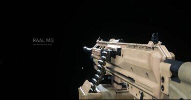 Как разблокировать ручной пулемет RAAL MG в Warzone
