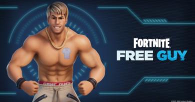 Скин свободного парня Райана Рейнольдса теперь доступен в Fortnite
