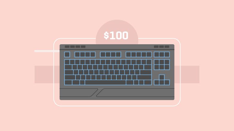 Лучшие игровые клавиатуры до 100 долларов - сравнение и отзывы