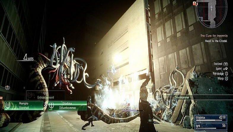 Final Fantasy XV Лучшее вознесение