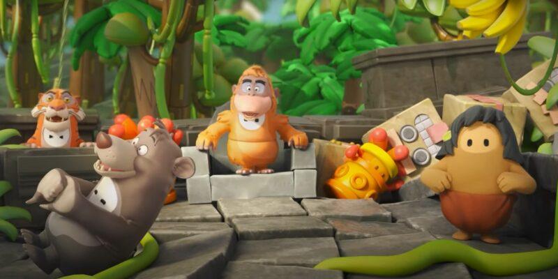 Книга джунглей выходит в Fall Guys на тематическом мероприятии, посвященном джунглям