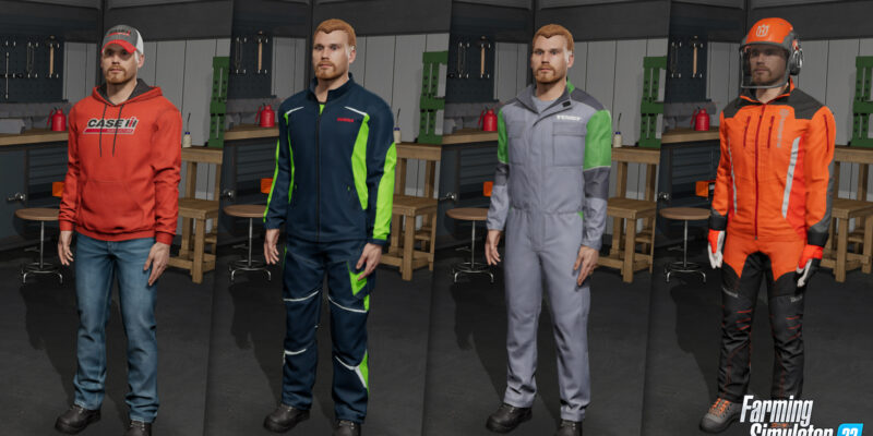 В Farming Simulator 22 появится обновленный создатель персонажей