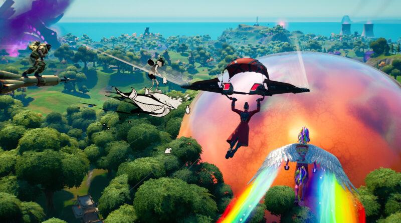 Вот новая карта для Fortnite Chapter 2, Season 8