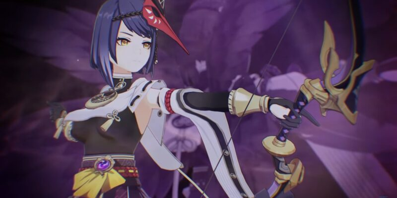 Genshin Impact: гайд по Кудзё Сара - Оружие, артефакты и таланты