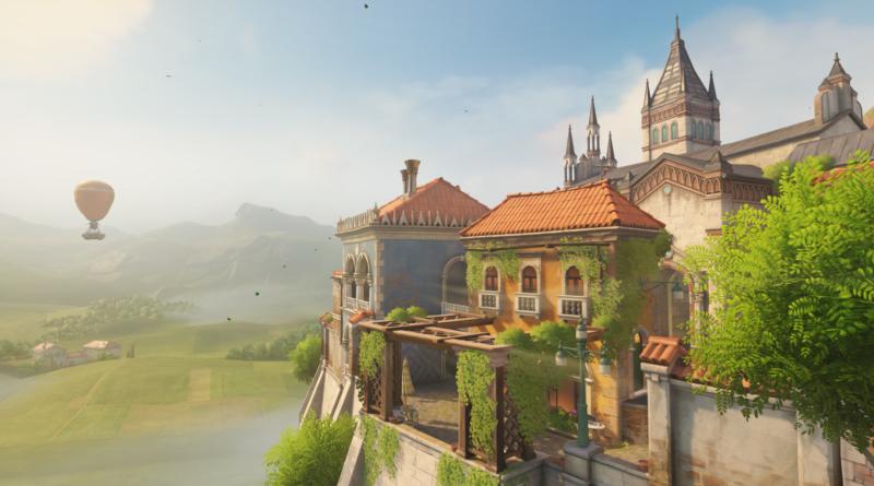 Вышла новейшая карта Overwatch, Malevento