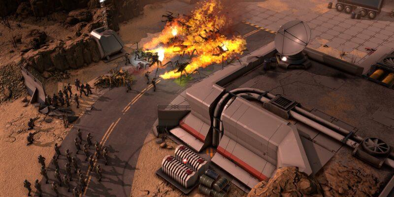 В следующем месяце вы сможете поиграть в Starship Troopers - Terran Command в демоверсии Steam