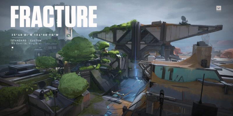 Предварительный просмотр Valorant Fracture - первый взгляд на новую карту