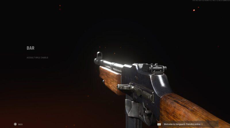 Лучшая экипировка БАР в Call of Duty: Vanguard