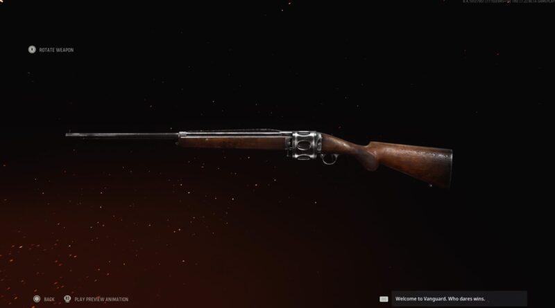 Лучшее снаряжение для револьверного дробовика в Call of Duty: Vanguard
