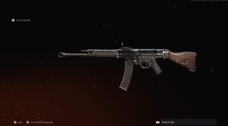 Лучшая загрузка STG44 в Call of Duty: Vanguard