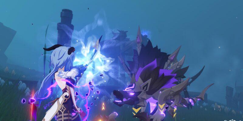 Genshin Impact: Through the Mists - Подношение окуня Autake Plains