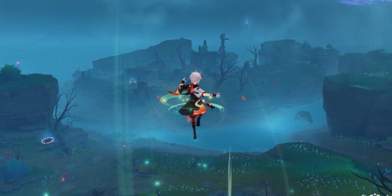Genshin Impact: Through the Mists - Подношение окуня из святилища Чирай