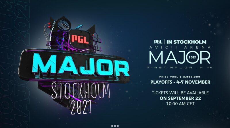 Все команды прошли квалификацию на PGL Stockholm Major 2021