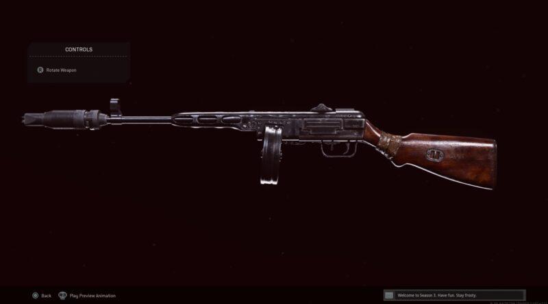 Лучшая экипировка ППШ-41 в Call of Duty: Warzone
